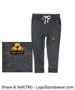 YOUTH - Girl Fight joggers Design Zoom