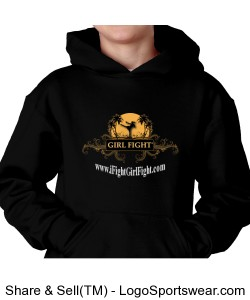 YOUTH - Girl Fight hoodie Design Zoom